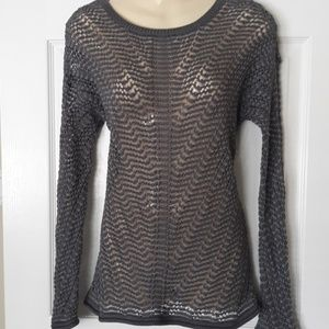 Tommy Bahama mesh pullover sweater